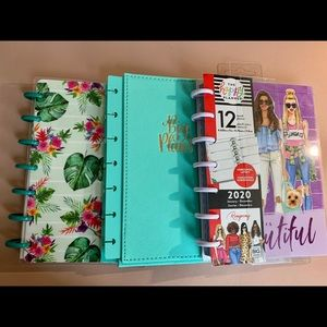Happy Planner Mini Planner, Notes w/ Hard Cover
